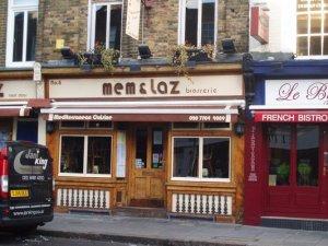 Mem & Laz Outside