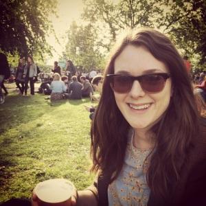 Laura at Arctic Monkeys