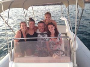 Ibiza Rib Boat - Graeme