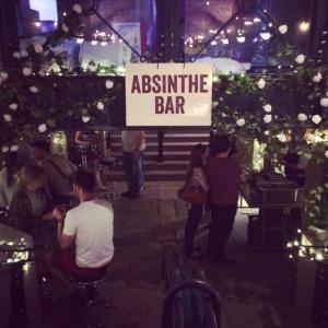 FEAST festival Absinthe Bar