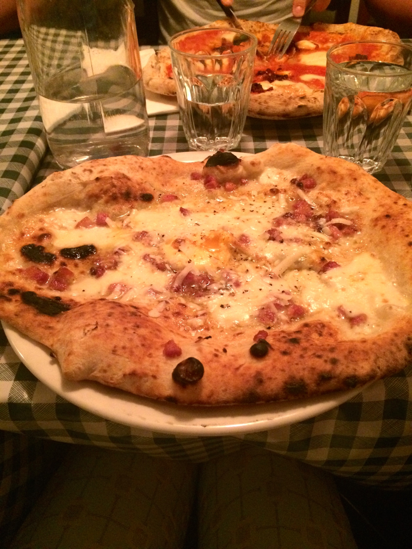Carbonara Pizza Pilgrims