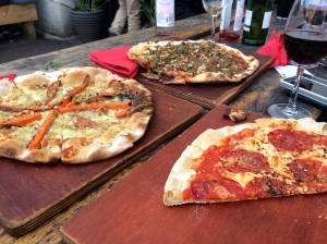 Crate Brewery Pizzas