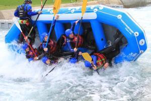 Lee Valley Water Rafting