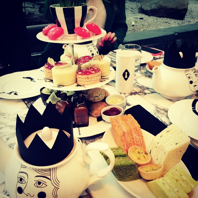 Sanderson Hotel Tea Party