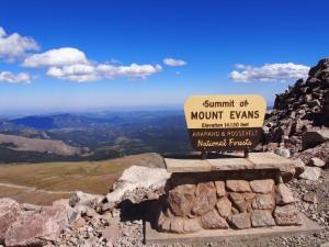 Mount Evans, Denver